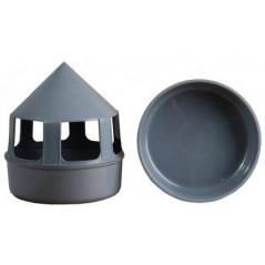 Mageoire à grit en plastique - gris 26010 Private Label - Ornibird 3,95 € Ornibird