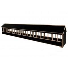 Mangeoire en bois avec toit pignon - 60cm 26104 Private Label - Ornibird 18,95 € Ornibird