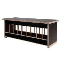 Mangeoire en bois avec toit plat - 50cm 26061 Private Label - Ornibird 16,95 € Ornibird