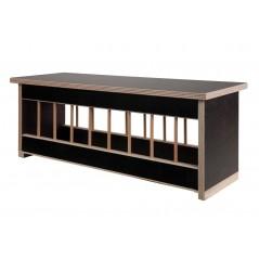Mangeoire en bois avec toit plat - 50cm 26064 Private Label - Ornibird 26,95 € Ornibird