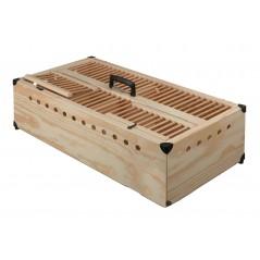 Panier d'entraînement en bois, avec séparation - 80x40x22 cm 26071 Private Label - Ornibird 64,99 € Ornibird