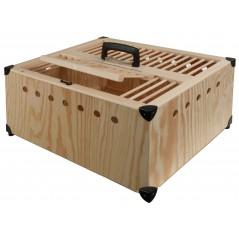 Petit panier en bois - 50x40x22 cm 26074 Private Label - Ornibird 40,95 € Ornibird