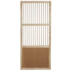 Porte coulissante en bois - 60x190 cm 26109 Private Label - Ornibird 74,95 € Ornibird