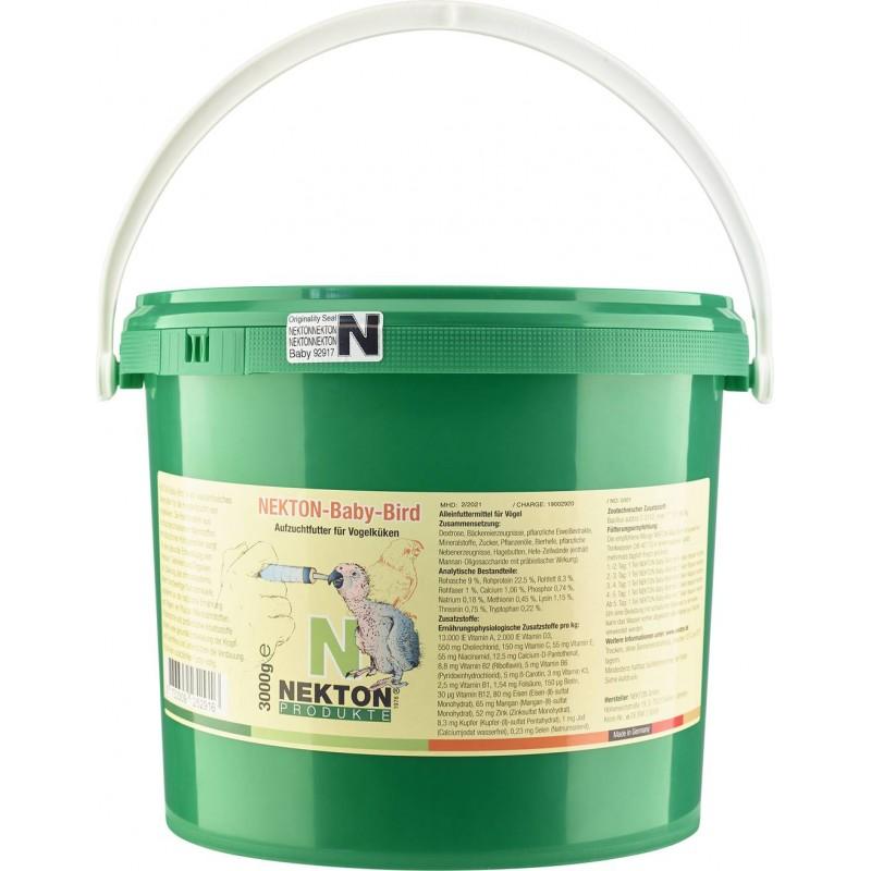 Nekton-Baby-Bird 3kg - Aliment pour le nourrissage à la main - Nekton 2523000 Nekton 43,57€ Ornibird