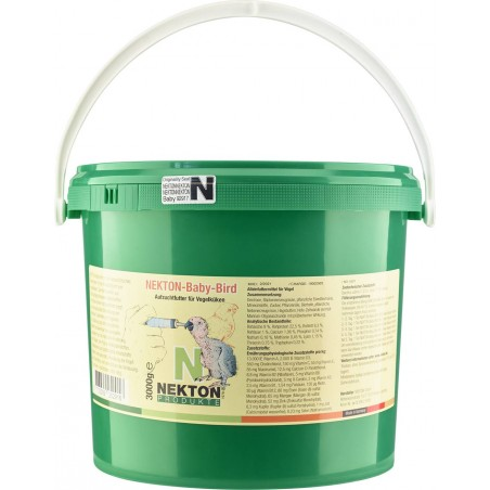 Nekton-Baby-Bird 3kg - Food for the feeding hand - Nekton 2523000 Nekton 43,78 € Ornibird