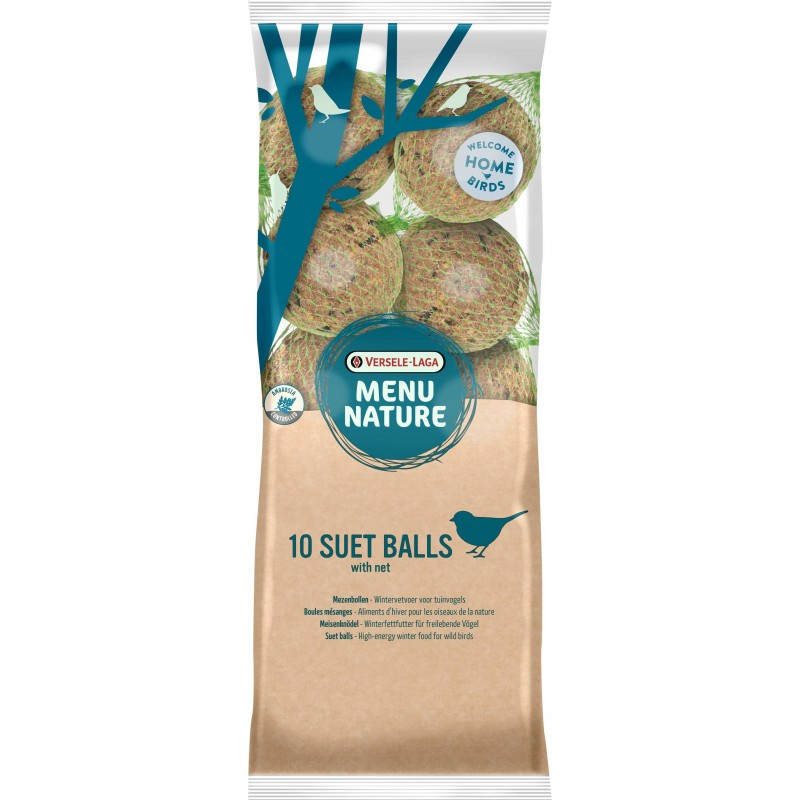 1 Giant Suet Ball, boules mésanges (Display 36) 500gr - Menu Nature (Versele-Laga) 464405 Versele-Laga - Oropharma 1,95 € Orn...