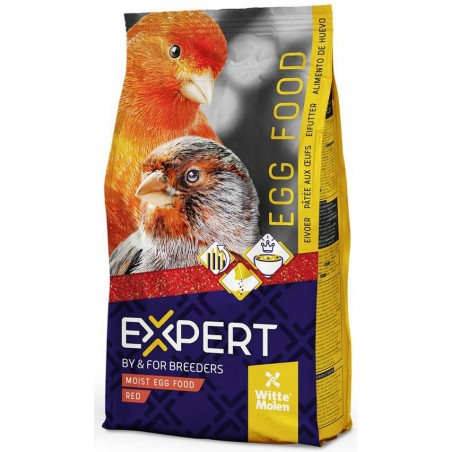 Patée wet to the eggs red 10kg - Witte Molen