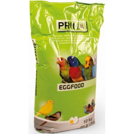 Patée aux oeufs pour canaris, exotiques et indigènes 10kg - Prima