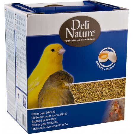 Patée egg yellow dry 4kg - Deli-Nature