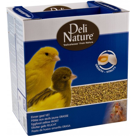 Patée the eggs greasy yellow 4kg - Deli-Nature