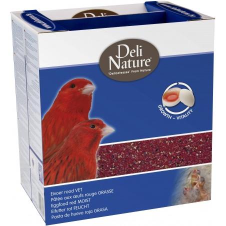 Patée aux oeufs rouge grasse 4kg - Deli-Nature
