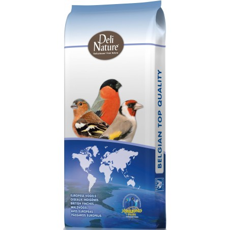 Tarins & Chardonnerets Supreme 20kg - N° 58 - Deli-Nature (Beyers) 066558 Deli-Nature 40,70 € Ornibird