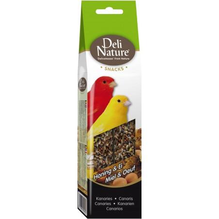 Snack Canaries Honey & Egg 60gr - Deli-Nature