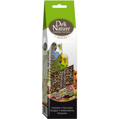 Snack Parakeets Mixture of Fruit 60gr - Deli-Nature