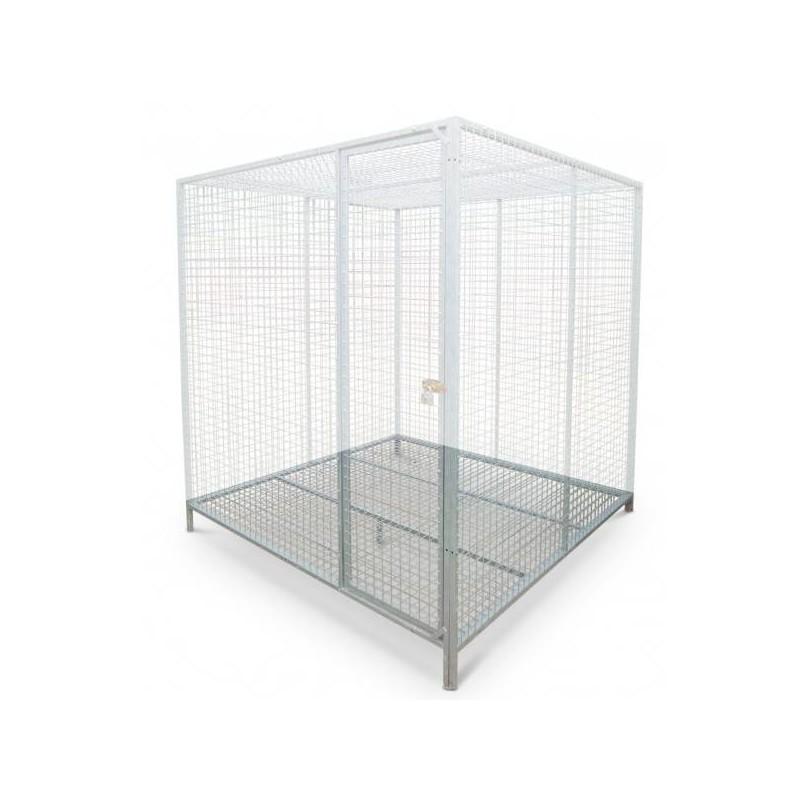 Volière panneau latéral 2m x 2m - Maille 5x5cm - Natural 90005408 Natural 158,00 € Ornibird