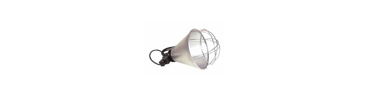 Lampes chauffantes et Couveuses