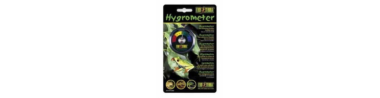Termômetros e higrômetros
